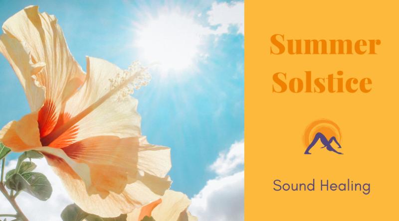 PAST: Summer Solstice Sound Healing Benefit: June 22 - The Yoga